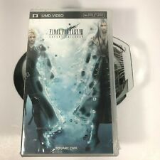 PSP Final Fantasy VII Advent Children Video Games UMD Video By Sony Collection!