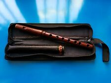 ARMENIAN SHVI (Flute) Professional from Apricot Wood with Leather Case, Whistle