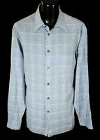 Ermenegildo Zegna Casual Shirt XL 18-37 Made in Italy