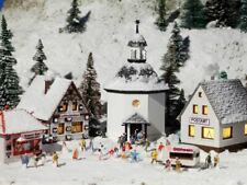 VOLLMER N SCALE CHRISTMAS VILLAGE BUILDING KIT | SHIPS FROM USA | 47613