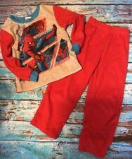 Spider-Man Toddler Boys Size 4/5 Pajamas Top and Bottom Warm P.j.'s