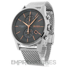 * Nuovo * Da Uomo Hugo Boss JET Cronografo Rose Gold Watch - 1513440-RRP £ 299