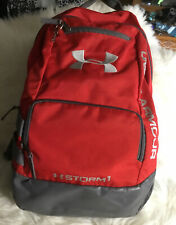 Under Armour Backpack Red/Gray Storm 1