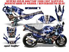 AMR RACING DEKOR GRAPHIC KIT SUZUKI GSX-R 600/750/1000/1300 MAD HATTER B