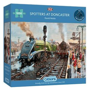 Gibsons G6317 Spotters at Doncaster 1000pc Puzzle