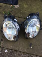 GENUINE MINI COOPER JCW R56 XENON HEADLIGHTS PAIR N/S & O/S  2006-2014 Tested