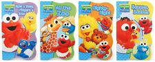 New Sesame Street Beginnings BOARD BOOKS SET Baby Big Bird Cookie