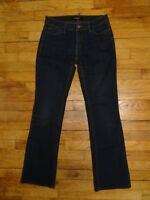 Daisy Fuentes Dark Blue Bootcut Jeans 5-Pocket Style with Flap Pockets Size 2