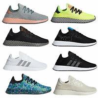 Adidas Originals Deerupt Runner Sneaker da Uomo Scarpe da Ginnastica Nuovo