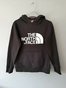 THE NORTH FACE BOYS BLACK HOODIE SIZE M/M APPROX AGE 9-10 YEARS