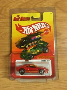 Hot Wheels The Hot Ones CHASE Ferrari GTO Red In ProPack RARE Redlines