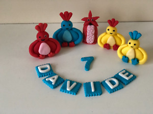 Twirlywoos Edible Cake Topper Decorations Personalised Birthday