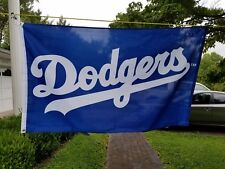 Los Angeles Dodgers Baseball Flag 3 By 5 Foot