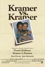 KRAMER VS KRAMER Movie POSTER 27x40 Dustin Hoffman Meryl Streep Jane Alexander