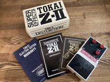 Tokai TDS-2 Distortion Guitar Effect Pedal MIJ Japan with Box Japanese Catalog