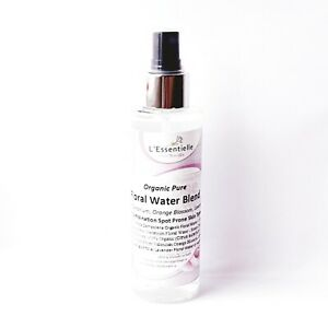 Organic Pure Floral Water Blend Rose, Geranium, Orange / Neroli Lavender 150ml