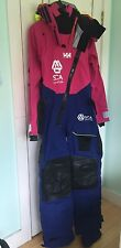 NEW! Helly Hansen Ocean Survival Dry Suit M XL Volvo Ocean Race Team SCA