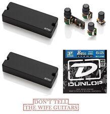 EMG 40DC Set 5 String Soapbar & BQC Tone Control System ( FREE BASS STRINGS )