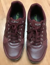 KURU Quantum Women's Red Burgundy Walking Trail Shoe 12 US EU 43 UK 9