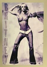BRITNEY SPEARS,AUTHENTIC,LICENSED  2004  POSTER
