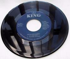 """T Texas Tyler Deck Of Cards 1958/ 1985 re-issue King 109 C&W Vinyl 7"""" 45 rpm VG+"""