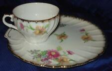 RP862 Vtg Shafford Bone China Japan Teacup & Plate Set