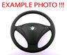 BMW 5 Series E60 E61 Black New Leather Steering Wheel M-tricolored