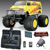 TAMIYA RC 58347 Lunch Box 2005 Monster Truck  1:12 Assembly Kit bundle Deal