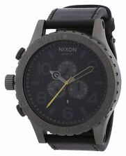 Nixon 51-30 Chrono Gunmetal Mens Watch A124680