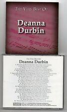 Deanna Durbin - The Very Best Of  (CD 2003)