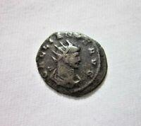 ROMAN, AE ANTONINIANUS. GALLIENUS 253-268 AD. VIRTUS REVERSE. SCARCE TYPE.