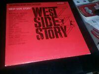 West Side Story LP The Original Soundtrack OL5670 Vinyl Good Condition