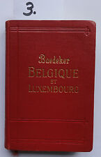 Baedeker Belgique et Luxembourg 1928 (5. W.)