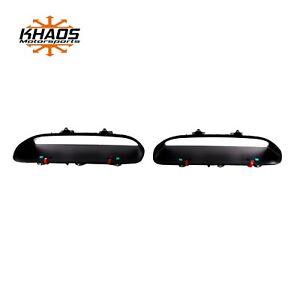 Dodge Challenger Hellcat Redeye Hood Bezels Set Left and Right OEM Mopar