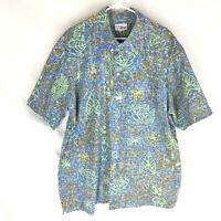 REYN SPOONER Shirt Mens Size XXXL 3XL Hawaiian Aloha Button Front