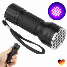 UV Taschenlampe, Schwarzlichtlampe Mit 21 LEDs Sehr Hell Superstrahl Flashlight