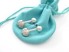 Tiffany & Co Silver Globe Cuff Links Cuff Link Cufflink Cufflinks!