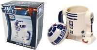 Star Wars: R2-D2 Shaped Ceramic Mug With Lid - New & Official In Picture Box