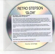 (DS961) Retro Stefson, Glow - 2013 DJ CD