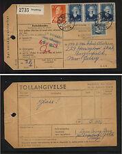 Norway  parcel  card       KEL1229