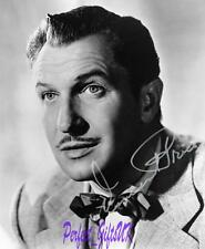 VINCENT PRICE SIGNED 10X8 REPRO PHOTO PRINT