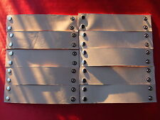 """#BR8W 10 TOOLING LEATHER BRACELET BLANKS LOT 2"""" Tattoo Practice & New Designs"""