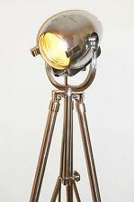 VINTAGE TEATRO LIGHT ART DECO Pellicola Lampada industriale VECCHIO STADIO Strand 123 Treppiede