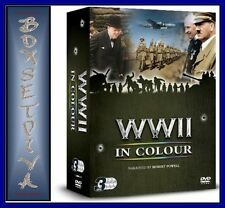 WORLD WAR 2 IN COLOUR - TRIPLE PACK *BRAND NEW & SEALED*