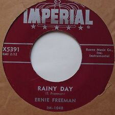 ERNIE FREEMAN: Rainy Day / Funny Face RARE IMPERIAL Rocker 45