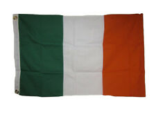 2x3 Embroidered Ireland Irish Sewn 100% Cotton Flag 2'x3' Banner Grommets
