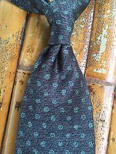 Auth BVLGARI Seven Fold Men's Silk Tie Necktie