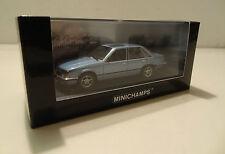 Minichamps Pm400045102 Opel Senator 1980 Blue 1 43 Modellino