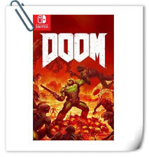 SWITCH Doom Nintendo Bethesda First Person Shooting Games