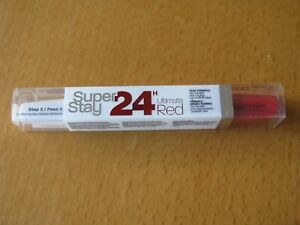 Maybelline Super Stay 24H Ultimate Red Lip Gloss 475 Hot Coral